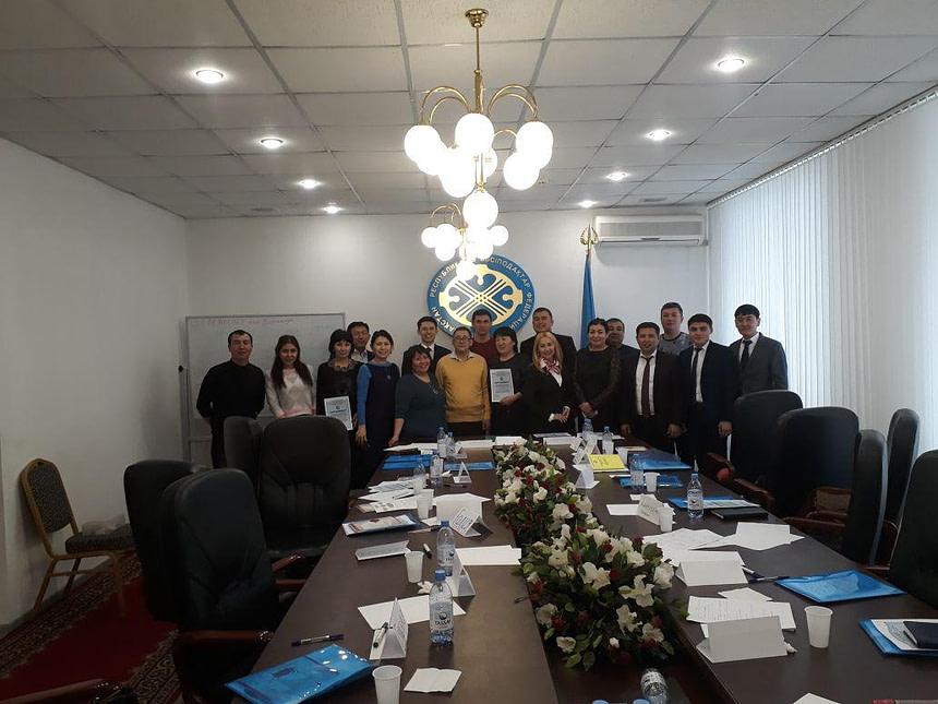 Астана қаласы ҚР кәсіподақтар Федерациясының кіші мәжіліс залында